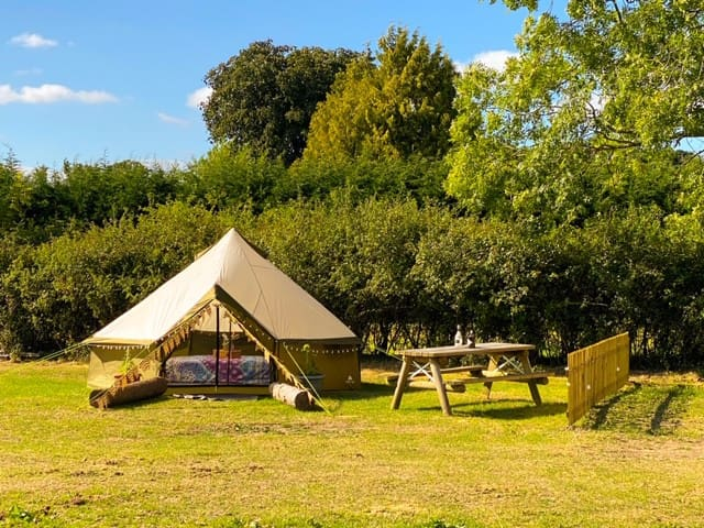 Peaceful, tranquil & comfortable camping