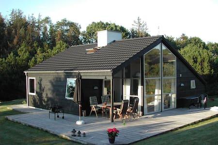 Moderne sommerhus tæt på stranden