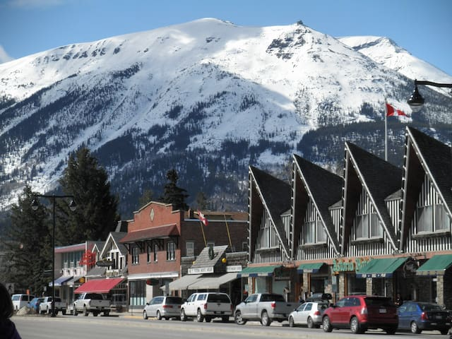 Connaught Drive with Whistlers Mountain