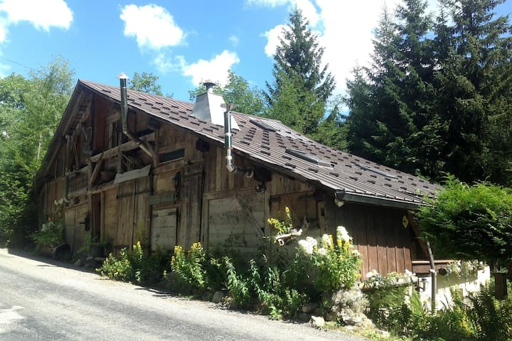 Wooden Chalet in the Alpine Commune of Taninges