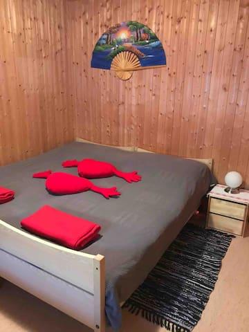 Als Doppelbett Zimmer