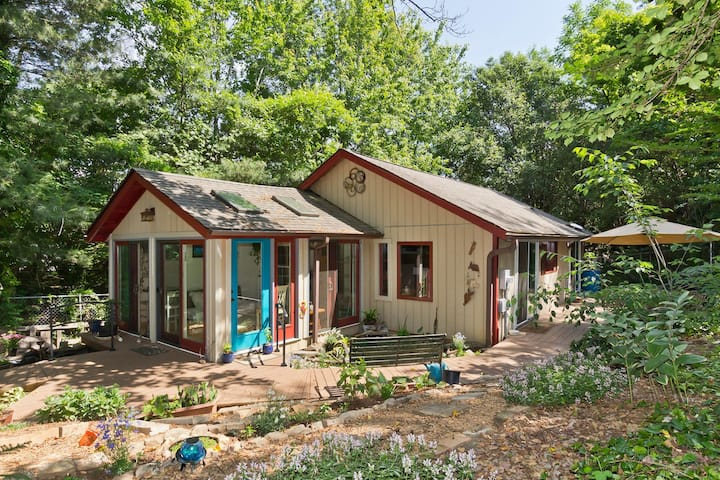 Ivy Cottage - Private, Wooded, Tranquil & Serene