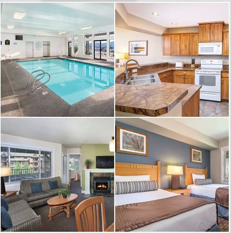 3 Bedroom Penthouse 2 Bath Wyndham Arrow Point, ID
