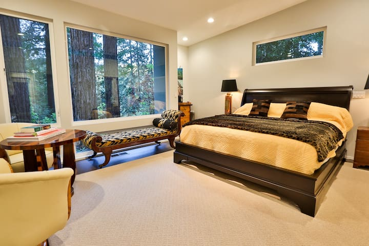 Eagle's Nest, an elegant retreat - Guerneville - Haus