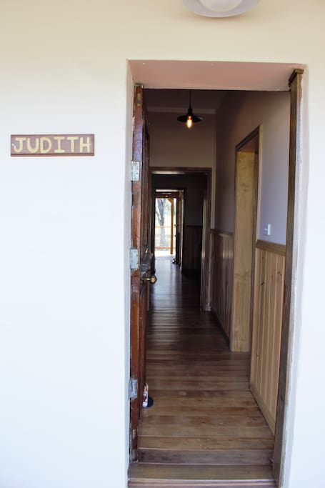 Welcome to Judith....Relax, refresh and revitalise whilst staying here in the peace of the mother....