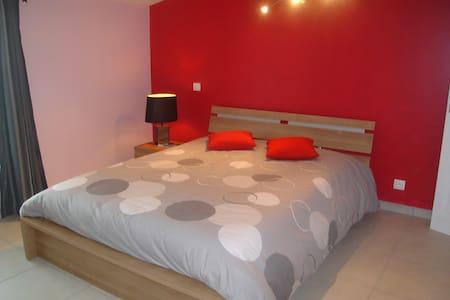 La chambre fuschia - Maubec - Apartment