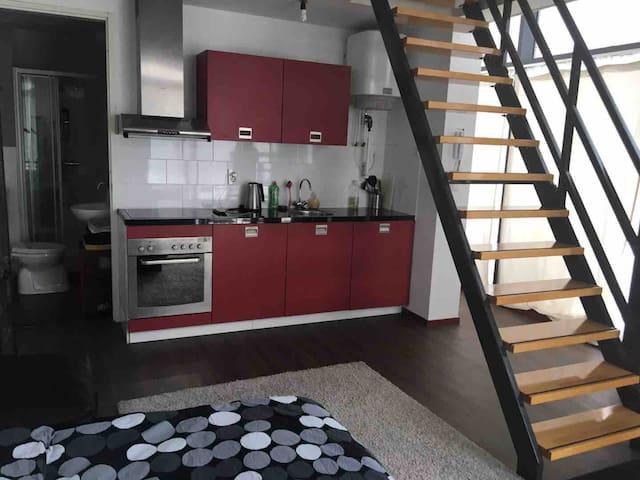 Nice loft studio in The Hague HS