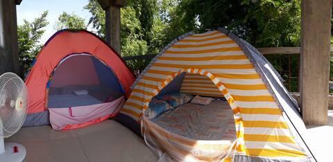 Tent sa Vigan ( tent @ covered terrace setup)