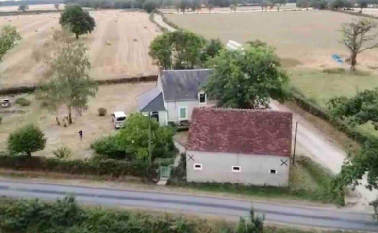 Sfeervol vakantiehuis in natuurgebied de Brenne