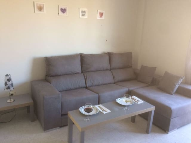 Lovely large modern apt with pool - El Tablero, Maspalomas - Lägenhet