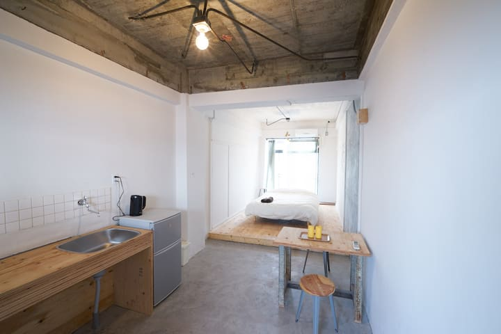 Good access to Naoshima, (D)bed for 1-3guest #F - Tamano-shi - Lejlighed
