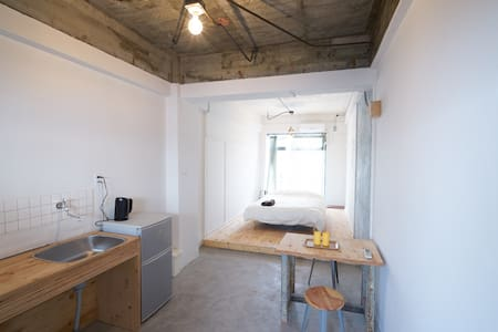 Good access to Naoshima, (D)bed for 1-3guest #F - Tamano-shi - Apartmen