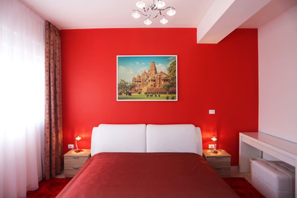 Elegant bedroom Kajuraho