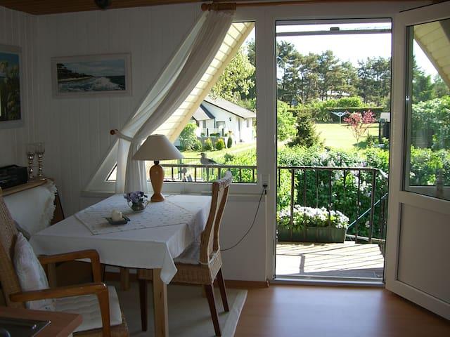Studio 2 Pers. Pruchten/ Ostsee ruhig gelegen - Pruchten - Apartment