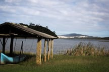 Lagoa de Ibiraquera.