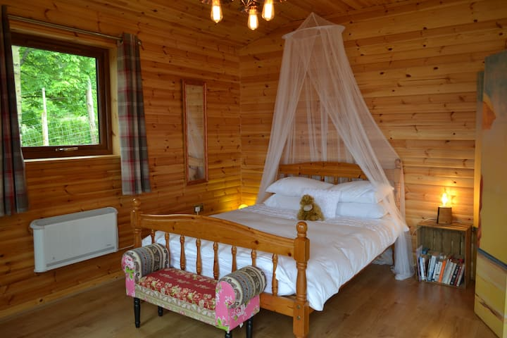 Light and airy sleeping area