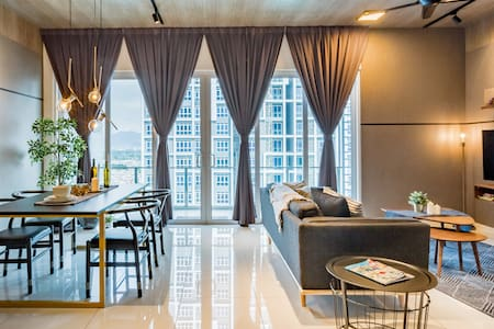 Sophisticated High-Rise Apartment with Views