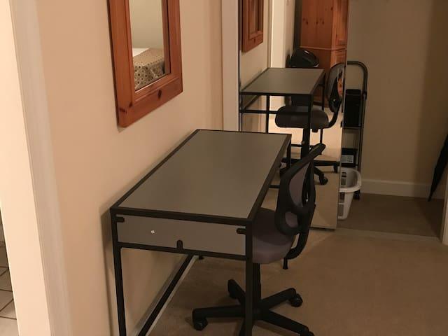 Desk/Closet