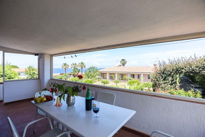 Appartamento Fausto in Villa con Piscina (N°6) - Santa Domenica - Apartemen
