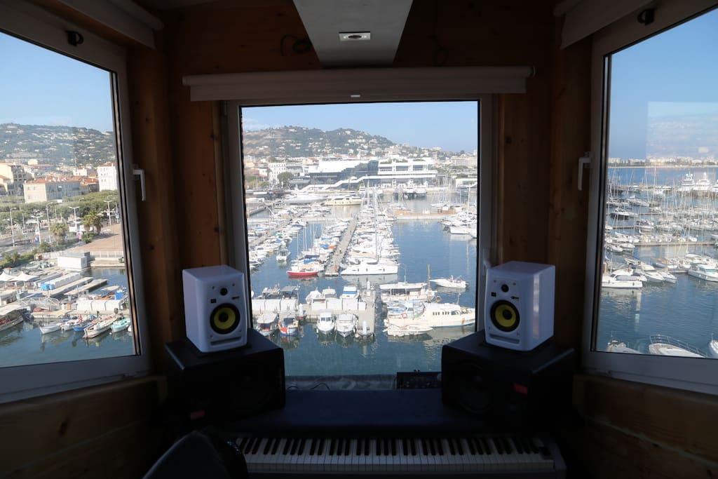 top floor studio/office