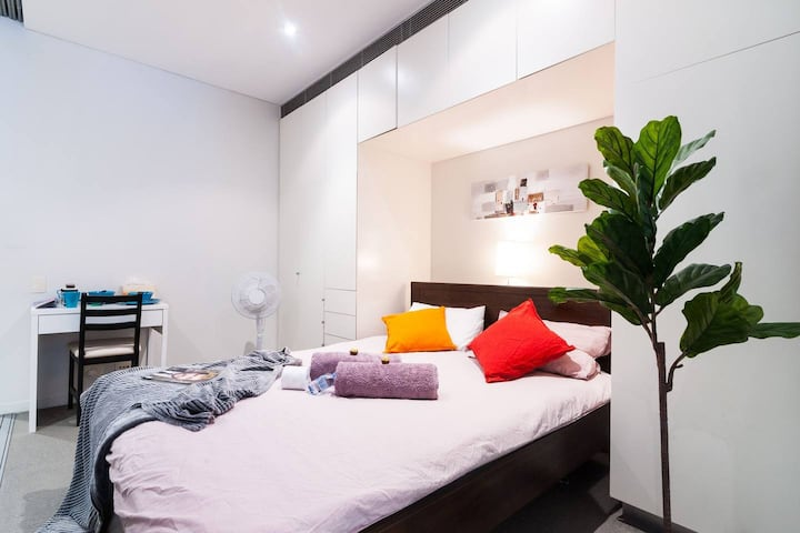 Nice Bedroom in Sydney Centre near Botanic Garden