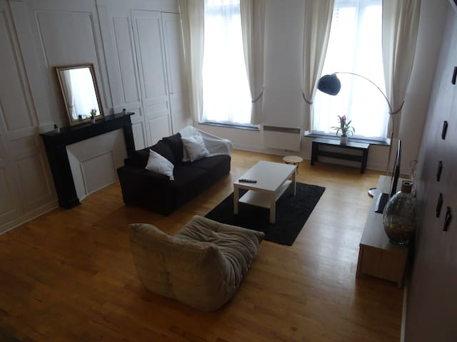 40 sq m loft in the very center of Tours with WIFI - Tours