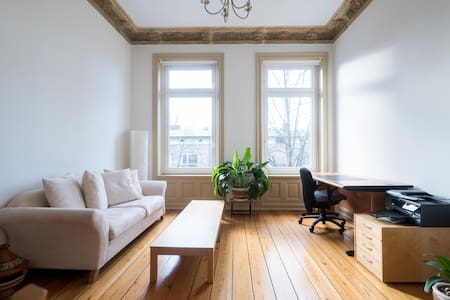 Sunny apt, central, 2 room, about 50 m²