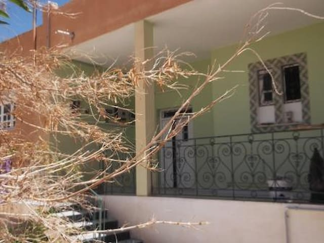 Une maison à Tozeur, Tunisie