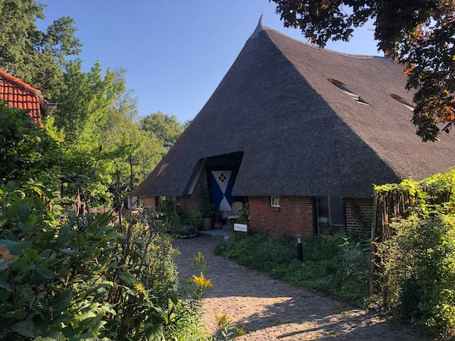 Prachtige woonboerderij uit 1576 in het Vechtdal!