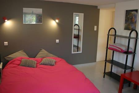 Jolie chambre + salon avec clic-clac, au calme - Montaigu