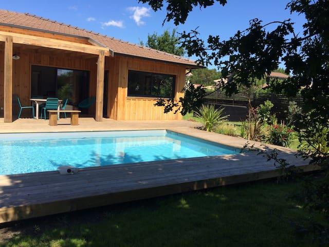 Maison bois type Cap Ferret- 130 m2 - Lège-Cap-Ferret - Hus