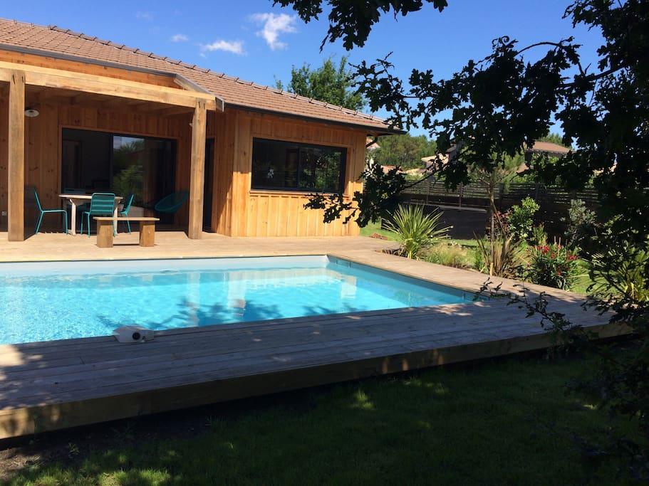 Maison bois Cap Ferret 130 m2 Houses for Rent in L u00e8ge Cap Ferret, Aquitaine Limousin Poitou  # Maison Bois Limousin