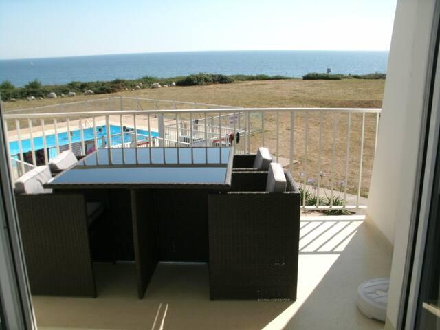 appartement superbe vue mer/piscine/tennis