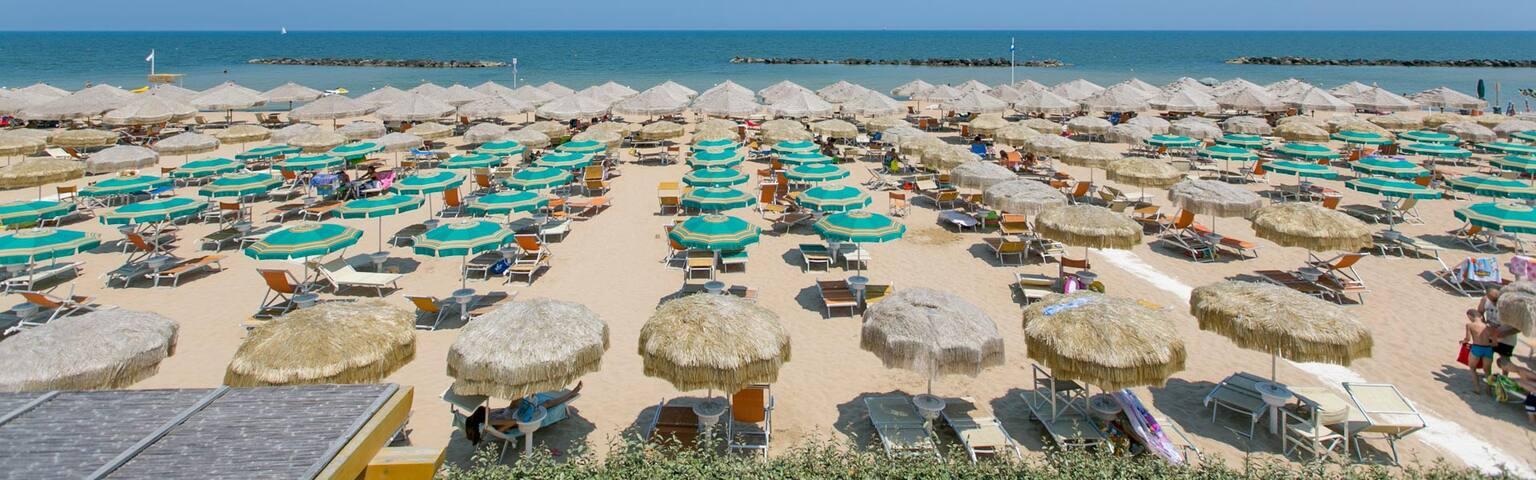 Grazioso appartamento a pochi passi dalla spiaggia