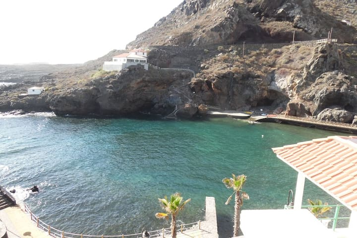 R. Nice apartment on the coast with natural pool. - Tamaduste