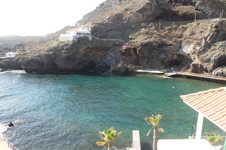 R. Nice apartment on the coast with natural pool. - Tamaduste - Byt