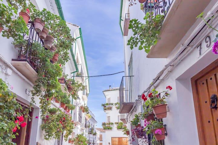Centro histórico. Barrio Árabe.