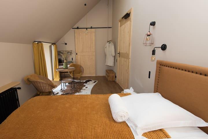 Mini-suite  B&B  dans le style boutique-hôtel