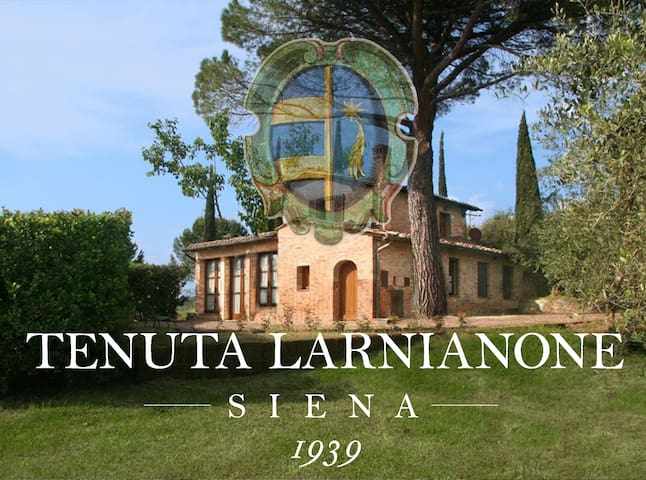 Colombina, lovely country house at 5km from Siena