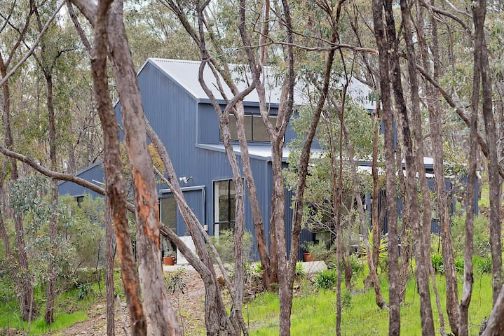 Castlemaine Hideaway in the Trees - relax & unwind - Muckleford - Huis