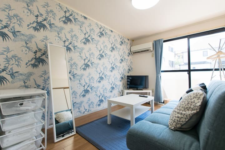 NearTokyo/Spacious 3bedrooms/FreePocketWifi/45