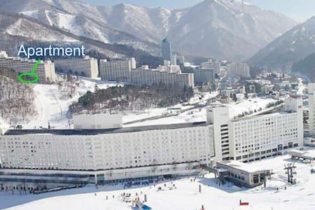 Ski till May 2017! Kids under 12 ski FREE! Wi-Fi. - Mikuni