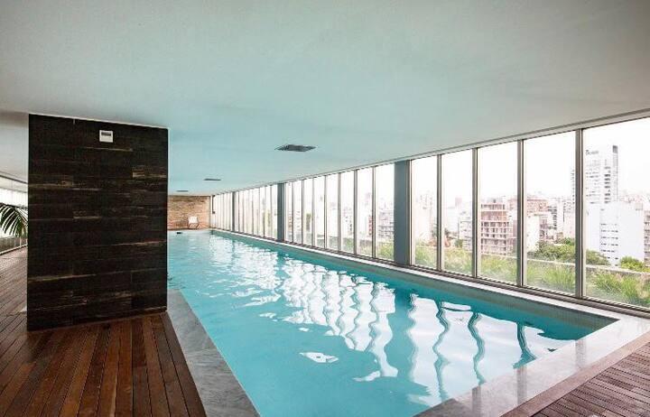 Torre de categoría con amenities 2 ambientes