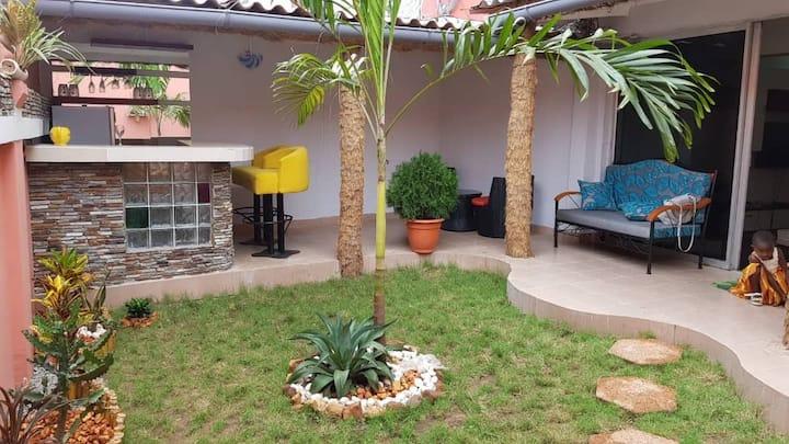 Bel appartement +jardin 3 pièces au rdc  en zone4