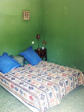 "I call this Bedroom ""Green Bedroom"" - Marignana"