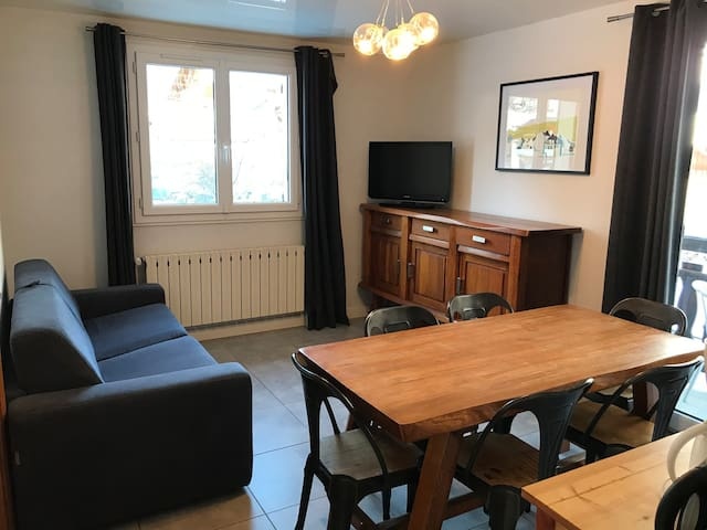 3 rooms 6 people 3* exposed South-West