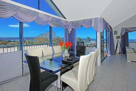 Resort living with views forever across the Bay