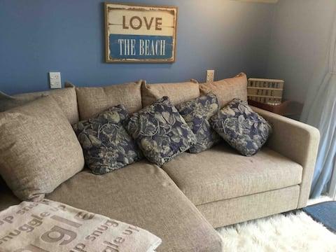 Beach Cottage Blue Bach