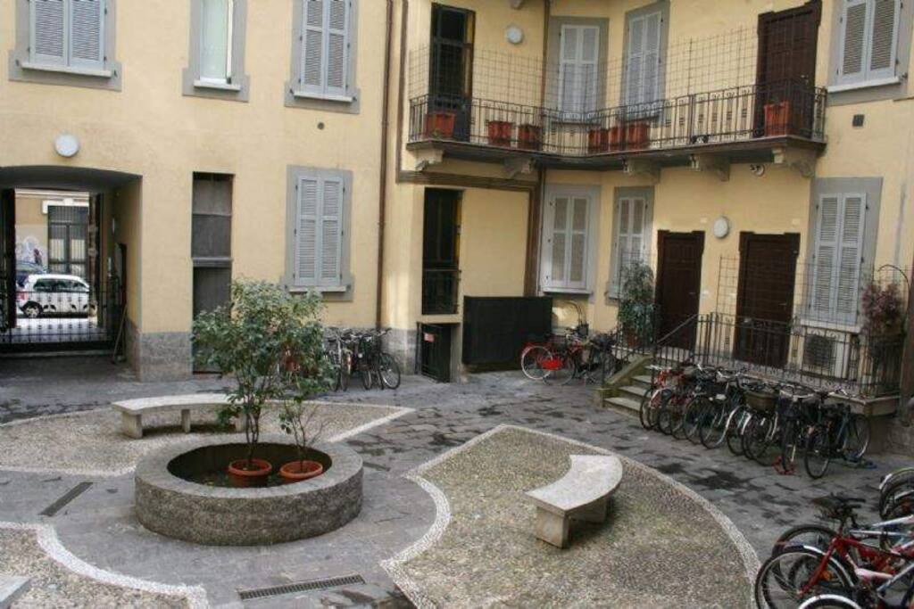 Corte interna - Courtyard