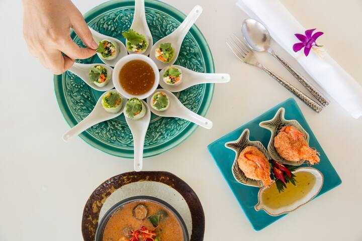 Villa Belle seaview w. bfast & Thai chef
